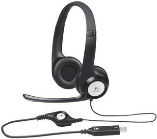Auricular Con Mic Usb Logitech Mod H390 Vincha Cancela Ruido