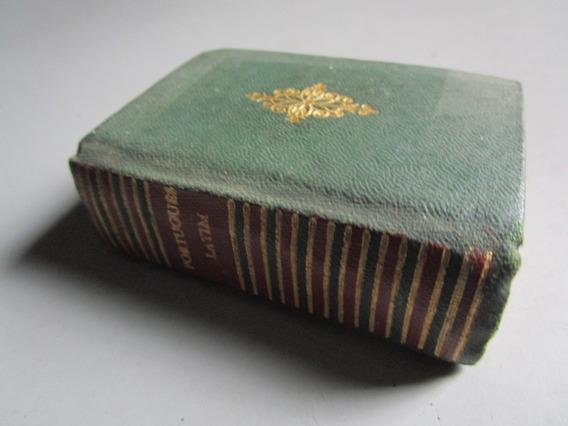 Minilivro - Dicionário Português-latim - L. A. Pena - 1959