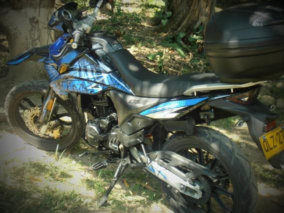 Hypertsport Dsr2 233cc Azul Usada, Con Baul, Remolque Adicio