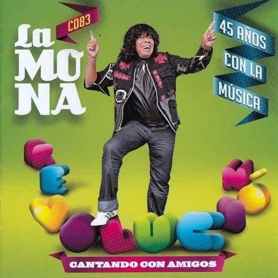 Cd La Mona Jimenez Cantando Con Amigos En Stock Musicanoba