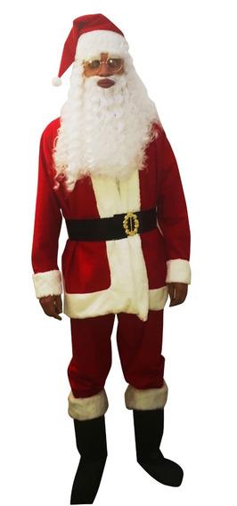 Disfraz Santa Claus Adulto Hombre Envió Gratis