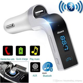 Oferta De Aniversario: Adaptador De Bluetooth Fm Para Auto