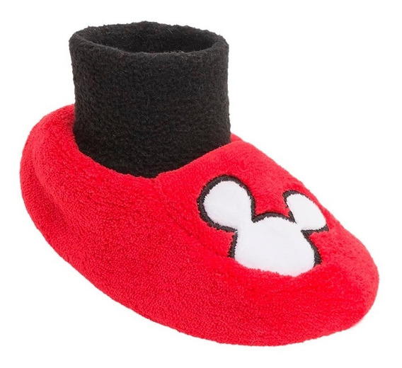 Pantuflas Para Bebe Bota Super Calientitas Mickey Disney