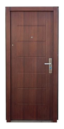 Puerta Semi Blindada Exteriores Nuevas 45kg