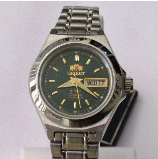 Relógio Orient Feminino Pequeno Automatico Aço Fnq18004f9