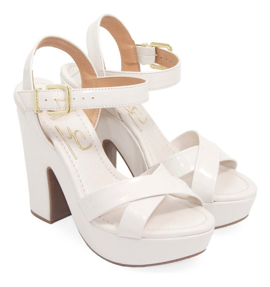 Zapatos Stilettos Taco Eco Cuero Massimo Chiesa