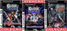 Guitar Hero 2 God 1 - 2 - 3 (3 Dvds) Ps2 Spin-offs Patch Me