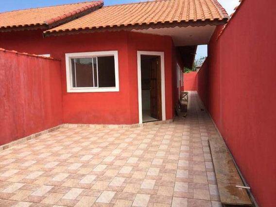 Casa Com 2 Dorms Balneário Flórida Mirim Mongaguá R$180 Mil Cod:6376 V6376