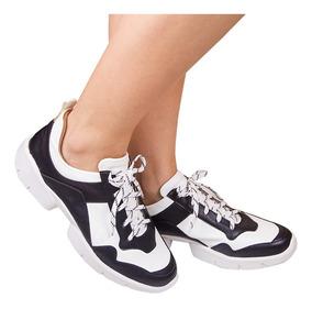 Tênis Feminino Chunky Sneaker Plataforma Novo Flatform