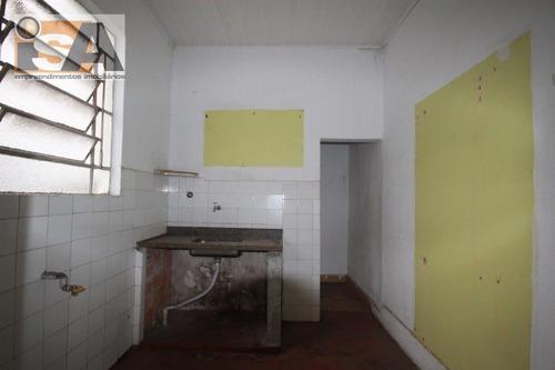 Casa Residencial Em Cambuci - São Paulo, Sp - 2804
