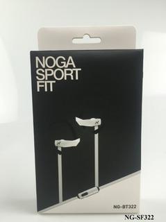 Auriculares In Ear Nogane Ng-bt322 Manos Libres-cable Blanco