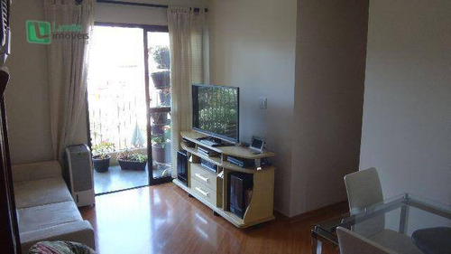 Apartamento Com 3 Dormitórios À Venda, 70 M² Por R$ 400.000,00 - Mandaqui (zona Norte) - São Paulo/sp - Ap0558