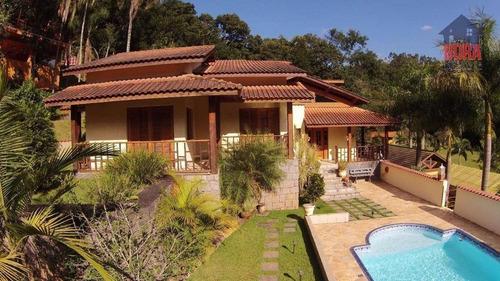 Chácara Com 3 Dormitórios À Venda, 1200 M² Por R$ 1.100.000,00 - Residencial Reserva Das Hortensias - Mairiporã/sp - Ch0265
