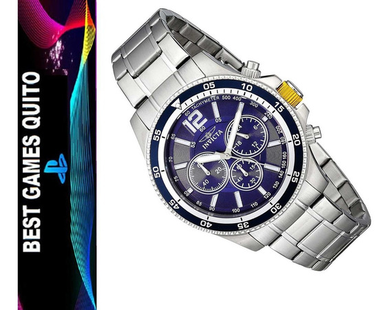 Reloj Invicta Specialty 13974 Plateado Masculino