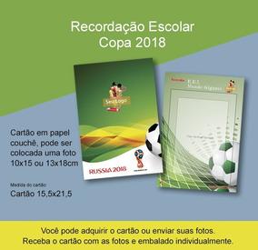Recordação Escolar - Copa Do Mundo 2018