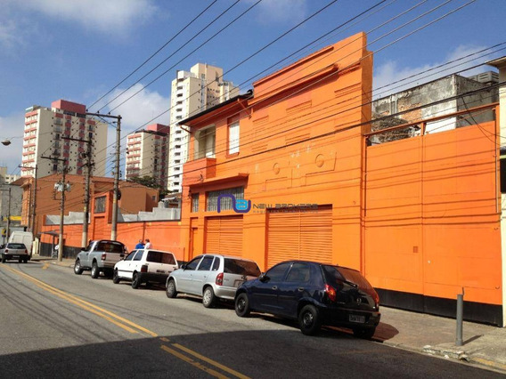 Terreno Para Alugar Por R$ 40.000/mês - Mooca - São Paulo/sp - Te0079