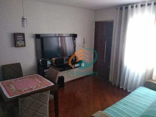 Apartamento Com 2 Dormitórios À Venda, 58 M² Por R$ 209.900,00 - Jardim Vila Galvão - Guarulhos/sp - Ap1781