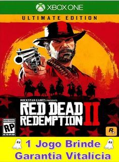 Red Dead Redemption 2 + 1 Jogo Brinde Xbox One