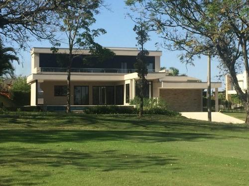 Maravilhoso Sobrado À Venda - Lago Azul Condomínio E Golfe Clube -sorocaba-sp, Excelente Localização, Condomínio De Alto Padrão. - So0101 - 67640745