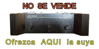 Spectrum Potencia De Sonido De Sonolink - Compro - Leer ! !