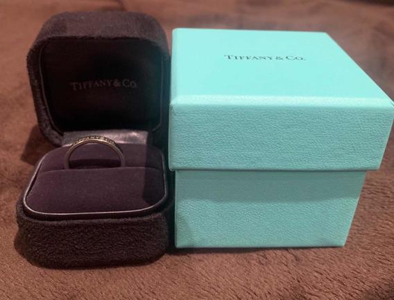 Anel Tiffany & Co Original Em Platina