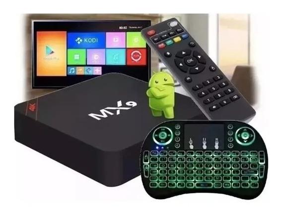 Kit Conversor De Box Tv 4k + Teclado Led ( Frete Grátis )