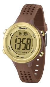 Relógio X-games Feminino Marrom E Dourado Xfppd065cxnx