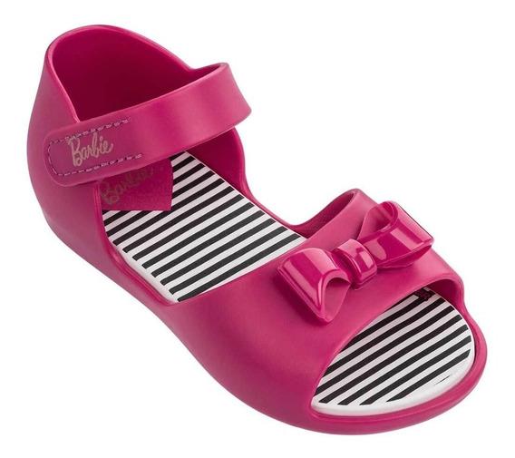 Sandália Infantil Criança Meninas Barbie Rosa Grendene