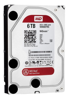 Disco Rigido 6tb Red Western Digital Dvr Seguridad