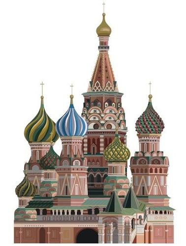 Vinilo Decorativo Infantil Castillo-i 06.calcomanía Kremlin