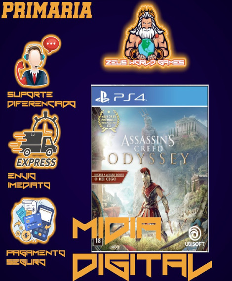 Assassins Creed Odyssey Deluxe Edition Ps4