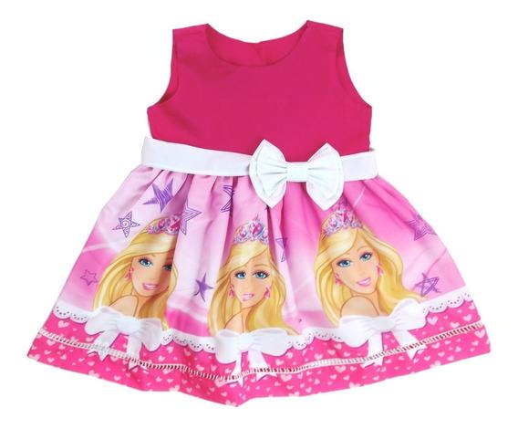 Vestido De Festa Barbie Infantil