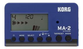 Metronomo E Afinador Digital Portátil Korg Ma-2 Blbk