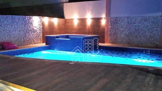 Casa Com 4 Dormitórios À Venda, 260 M² Por R$ 720.000,00 - Flamengo - Maricá/rj - Ca1011