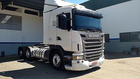 Scania G-420 6x4 Único Dono, Bom Estado Geral,
