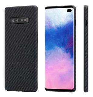 Case Capa Samsung Galaxy S10+ S10 Plus Pitaka Magcase Fibra