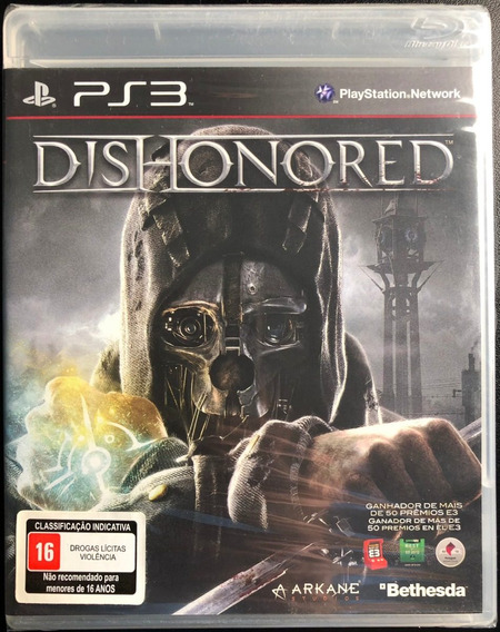Dishonored - Ps3 - Midia Física Novo Lacrado