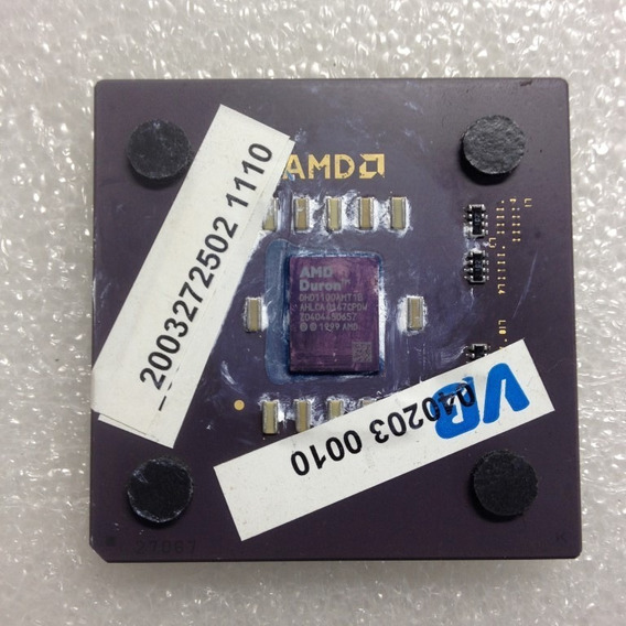 Processador Amd Duron 1100mhz Morgan Soquete 462 Com Cooler