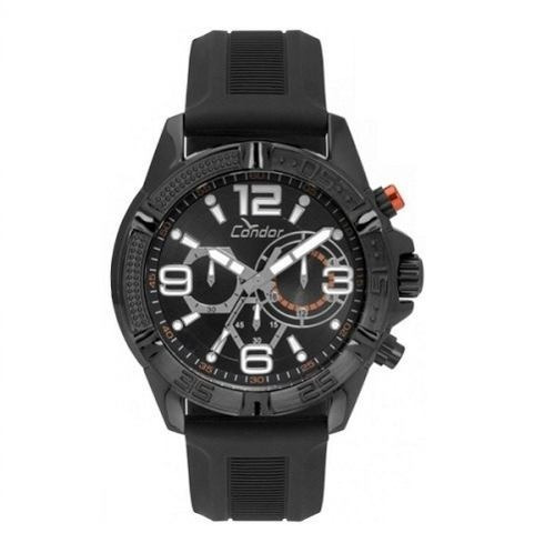 Relógio Condor Masculino Analógico Preto Loja Autorizada
