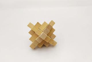 Rompecabezas Madera 3d Puzzle Lógica Mente Montoy