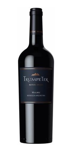 Imagen 1 de 5 de Vino Trumpeter Malbec 750 Ml Botella Pack X6 - Rutini Wines
