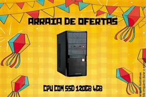 Computador Desktop Dual Core 4gb Ssd 120gb