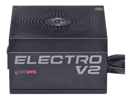 Fonte Atx 650w Real Electro V2 Series 80 Plus Bronze Pcyes