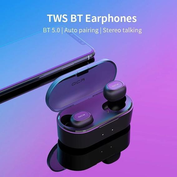 Fone Bluetooth 5.0 Qcy Qs2 Preto - Nova Versão