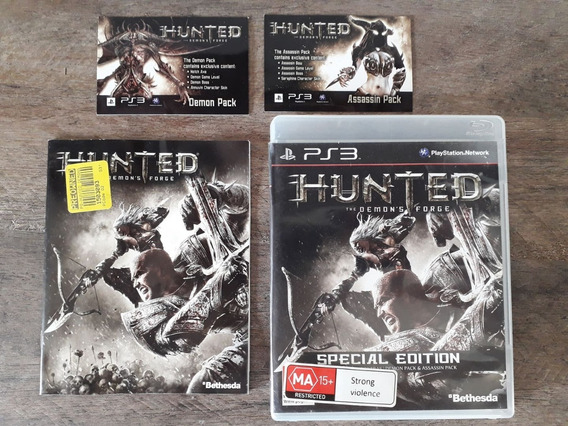 ( Frete R$ 9.90 ) Hunted: The Demon`s Forge Jogo Cd Ps3