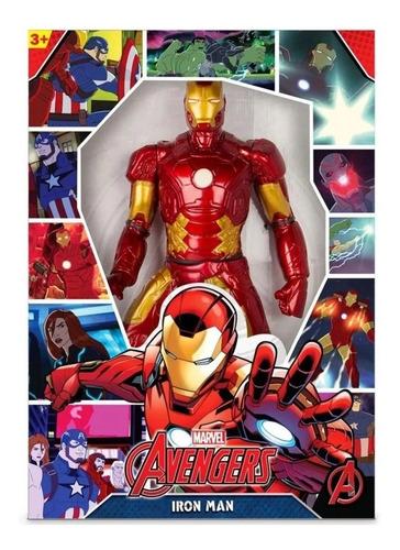 Imagem 1 de 2 de Boneco Homem De Ferro 50cm Iron Man Revolution Mimo
