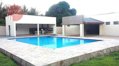 Chácara Com 3 Dormitórios À Venda, 2500 M² Por R$ 1.500.000,00 - Beira-rio - Jardinópolis/sp - Ch0112