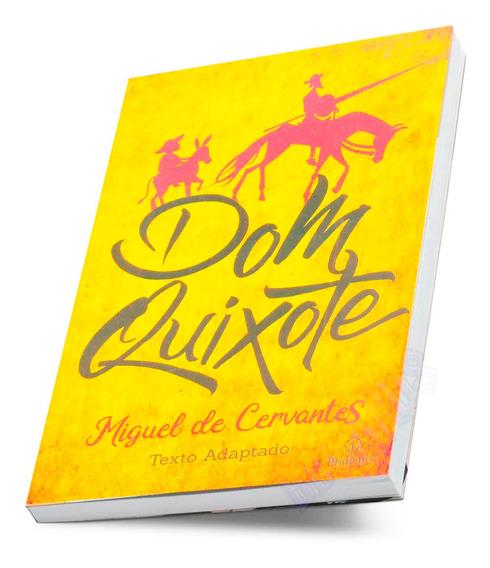 Livro Dom Quixote Literatura Espanhola Miguel De Cervantes