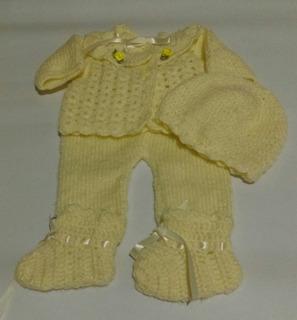 Ropones Para Bebes Prematuros - El Arte Del Tejido