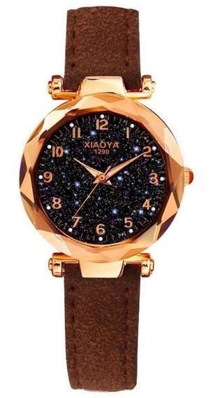 Relógio Feminino De Pulso Céu Estrelado - Xiaoya 1290